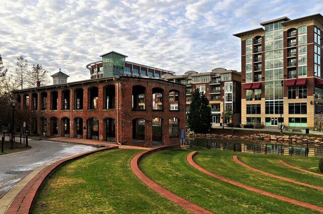 Downtown Greenville SC