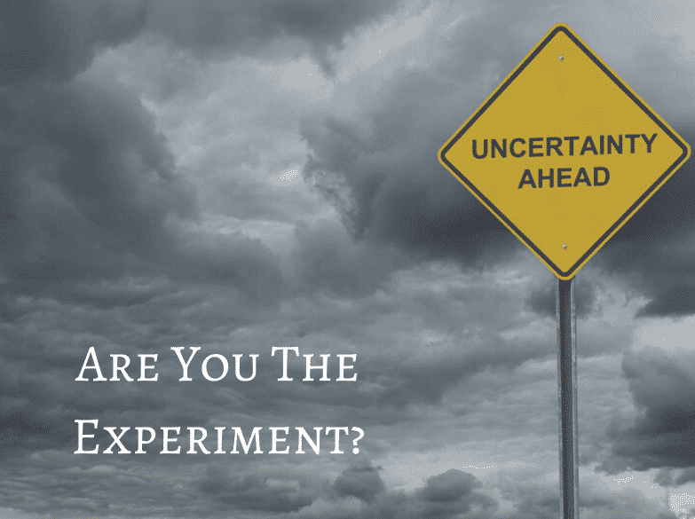 Are You The Experiment?
