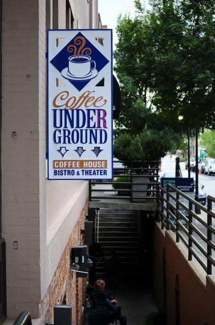 Coffee Underground Greenville SC