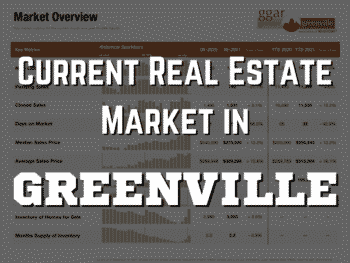 Greenville Real Estate Market August 2021